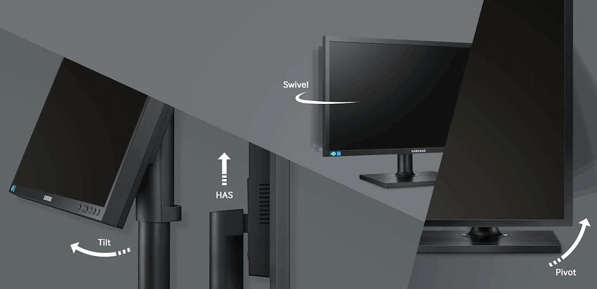 màn hình 21.5 inch samsung ls22e45ufs/xv