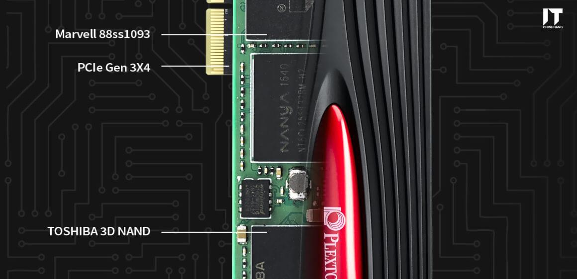 ổ cứng ssd plextor m9pe