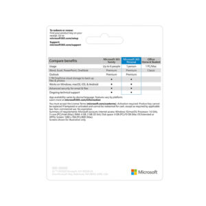 PHẦN MỀM OFFICE 365 PERSONAL ENGLISH APAC EM (QQ2-00983)