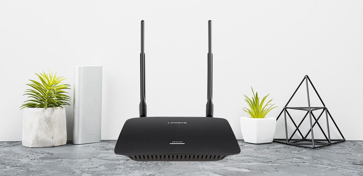 Bộ kích sóng Wifi Linksys RE6500HG