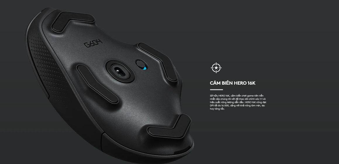 chuột gaming logitech g604