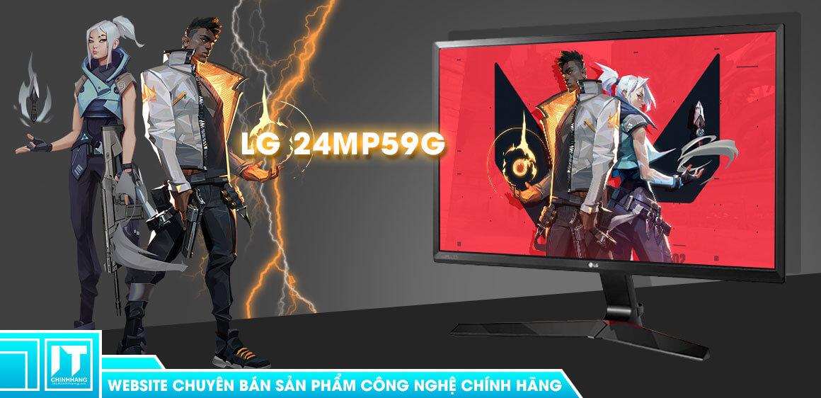 màn hình gaming LG 24MP59G review