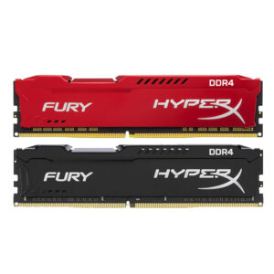 RAM PC KINGSTON HYPERX FURY DDR4 2666 16GB (BLACK/RED)